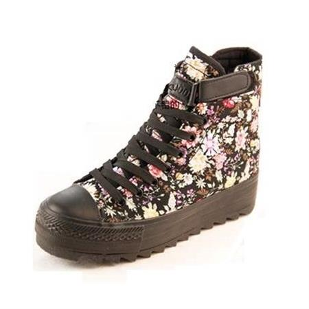 new look floral canvas shoes shoes bags fashion