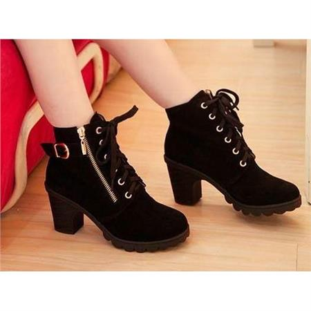 Chunky Zip Up Ankle Boots | Women Shoes &amp Bags Fashion Online